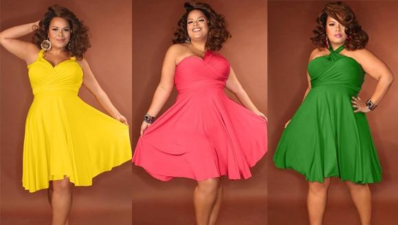 Стильные платья для полных женщин на все случаи. Часть 2