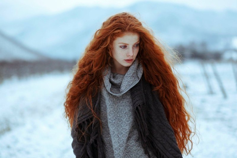 Рыжие волосы в мире, люди, мутанты, организм, тело
