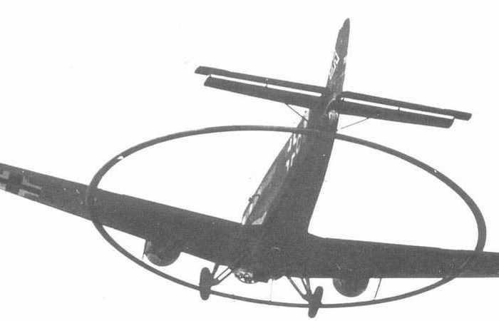 Для чего немцы устанавливали на свои самолеты большие кольца?