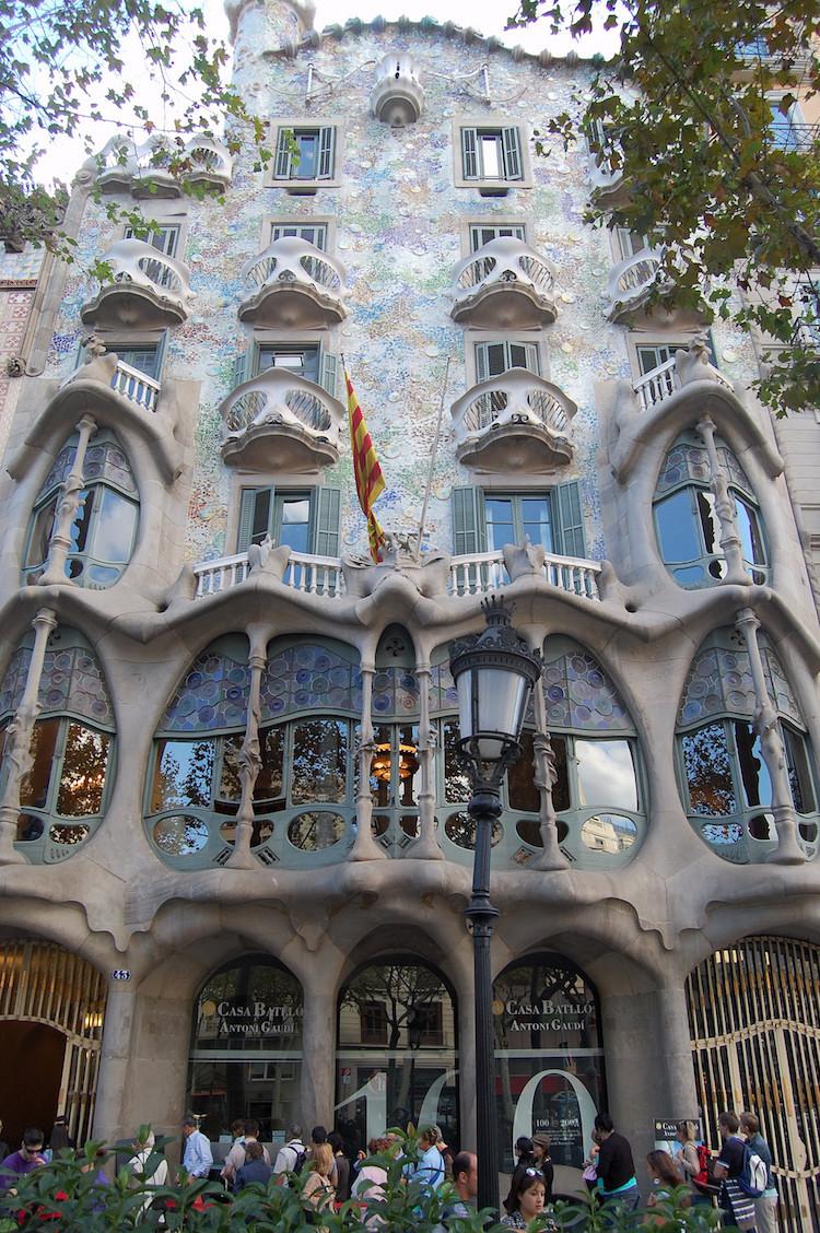 2. Дом Бальо Гауди, архитектор, архитектура, здания, искусство, красиво, фото, шедевр