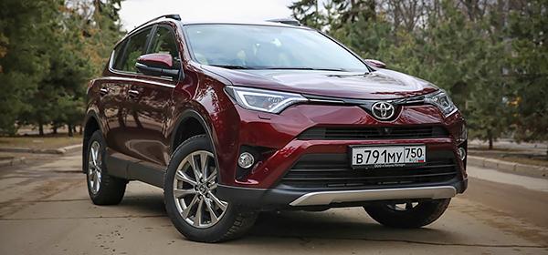 Toyota приступила к производству RAV4 в Санкт-Петербурге