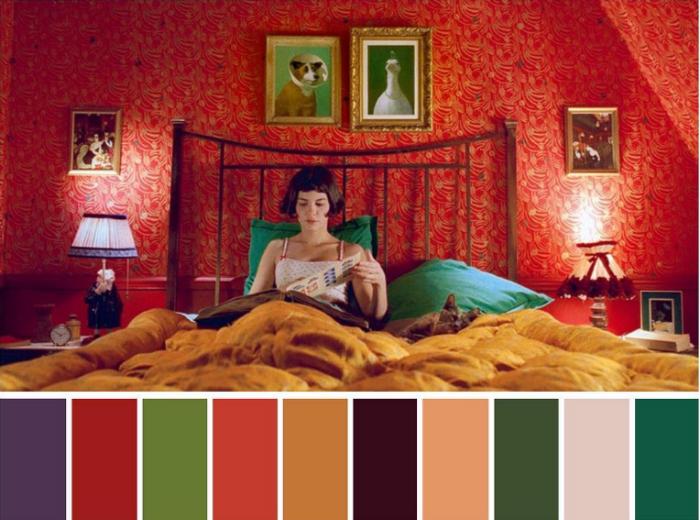 Палитра кино: в инстаграме разбирают по цветам самые красивые кадры из фильмов