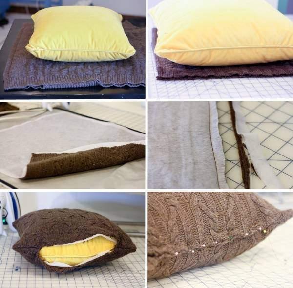 Диванные подушки своими руками: 20 великолепных идей
