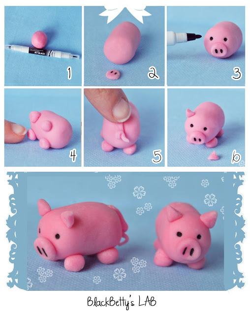 Как сделать фигуры из мастики