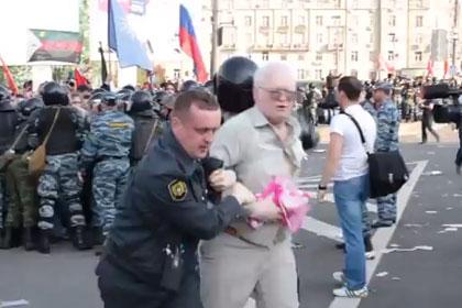 Задержание Олега Гариги
