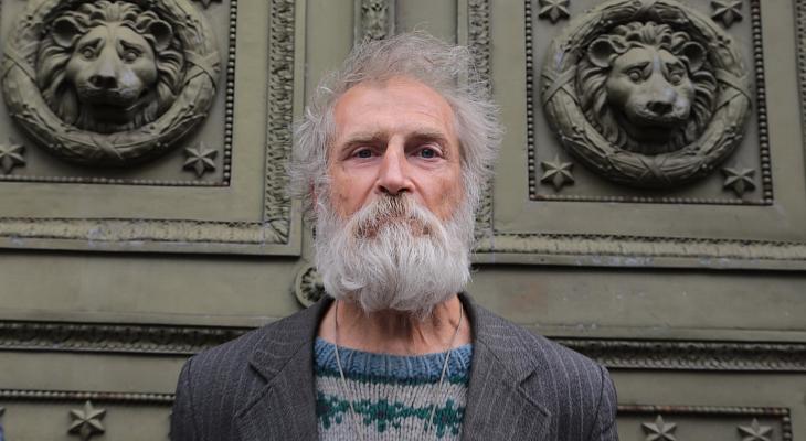 Петербургский Дамблдор: Вячеслав Раснер - бездомный экскурсовод