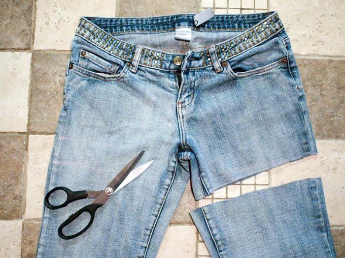 Редизайн старой одежды.