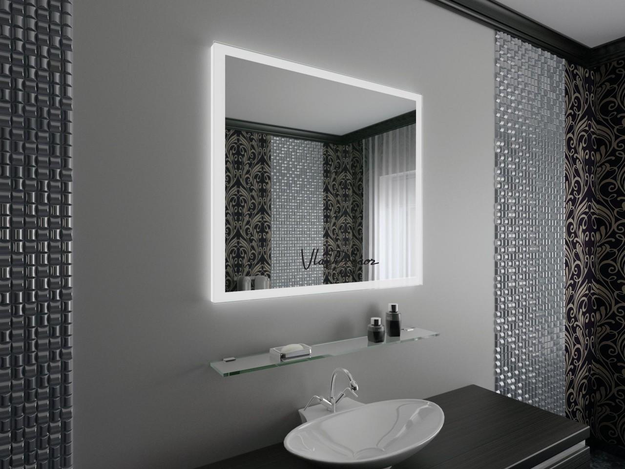 Как зеркало с подсветкой может изменить интерьер ванной: 7 вдохновляющих идей