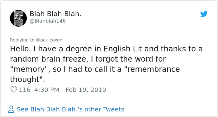 55 People Share Times They Got A 'Brain-Freeze' And Forgot Basic Words