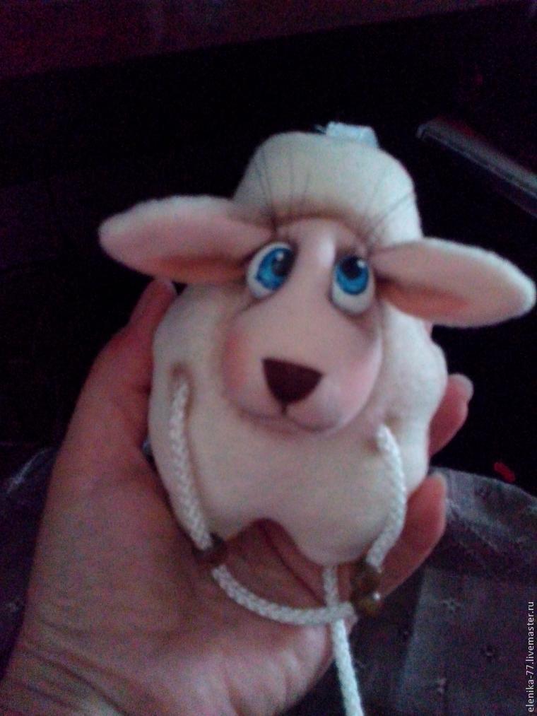 Для наших рукодельниц. Шьём овечку