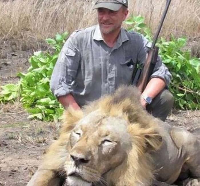 Ветеринар, который  любил охотиться и выкладывать снимки с убитыми им животными, сорвался со скалы и погиб