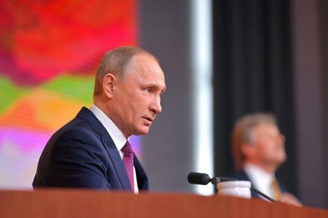 Ключевые цитаты большой пресс-конференции Путина 2017 года