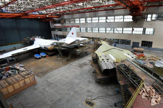 17-й «Белый Лебедь» России: в Казани достроили новый Ту-160