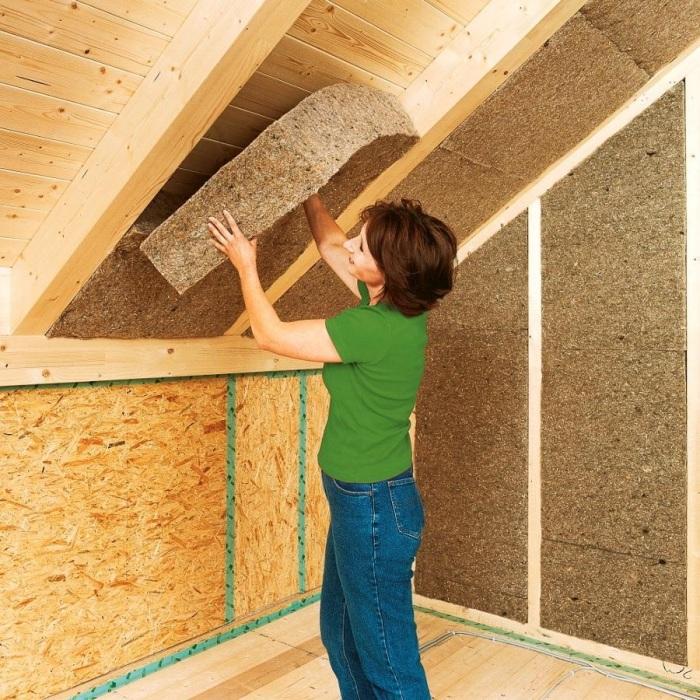 Качественная теплоизоляция - залог уютного дома.