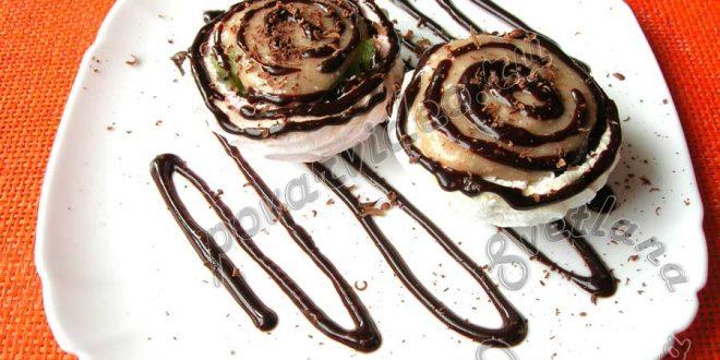 Десерт из зефира без выпечки