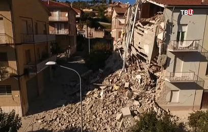 Россияне не пострадали во время землетрясения в Италии