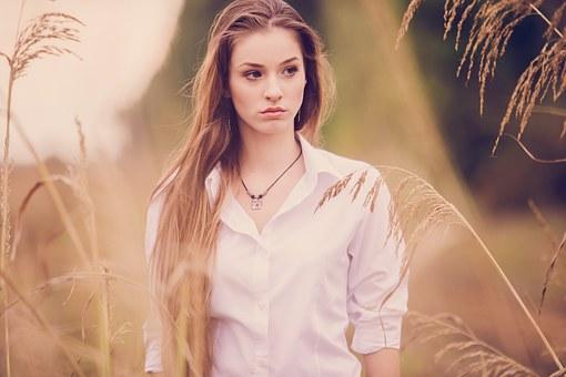 Портрет, Девушка, Природные
