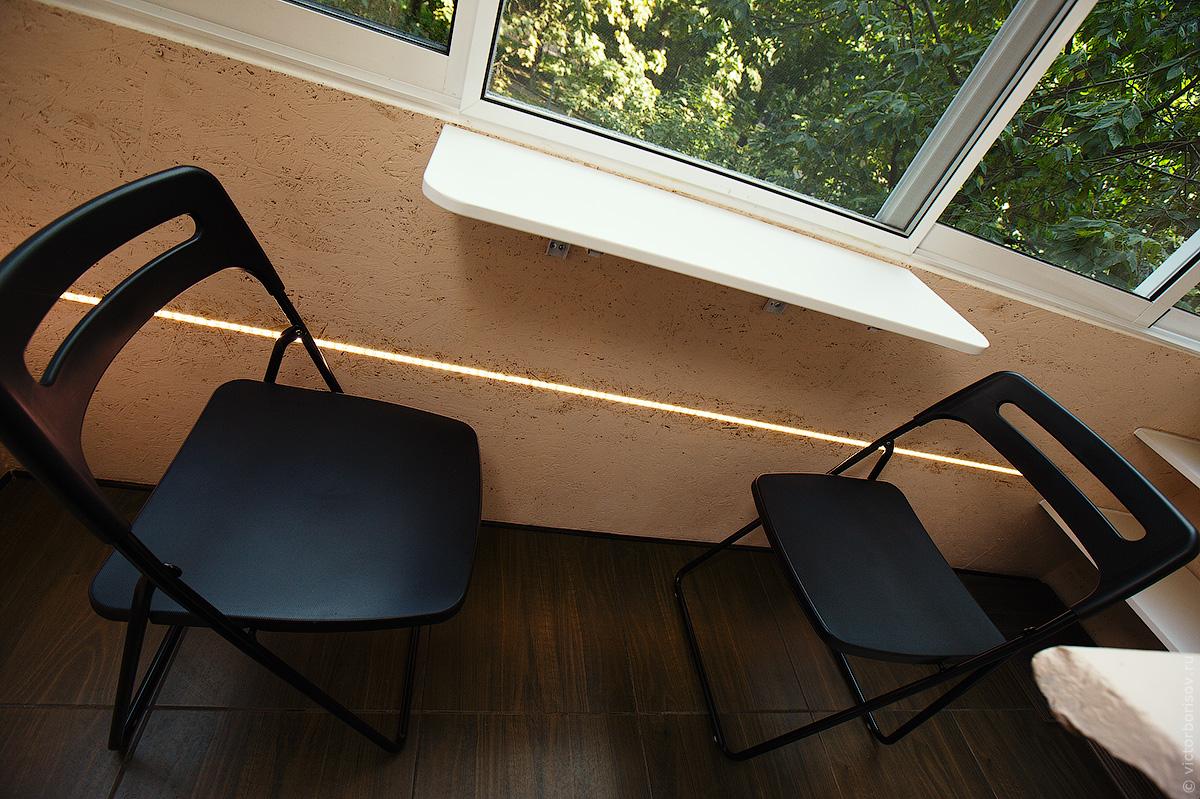 Откидной столик на балконе своими руками: как его сделать?.
