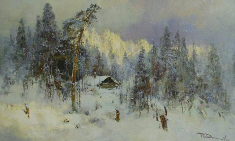 Это волшебство какое-то! Суровая, но прекрасная природа русского Севера на полотнах Юрия Васендина