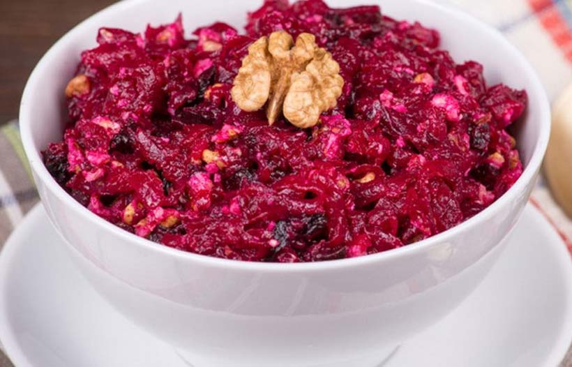 С такой заправкой свекольный салат станет настоящим шедевром… Для настоящих гурманов!