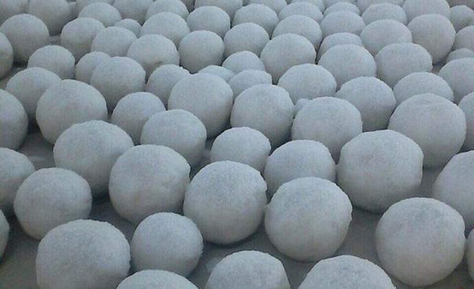 В Сибири образовались необъяснимые снежные шары