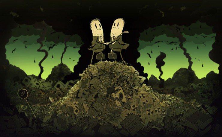 Грехи мира в иллюстрациях Стива Каттса
