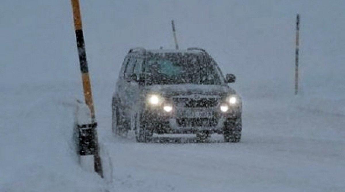 В Казахстане перекрыты дороги из-за метелей