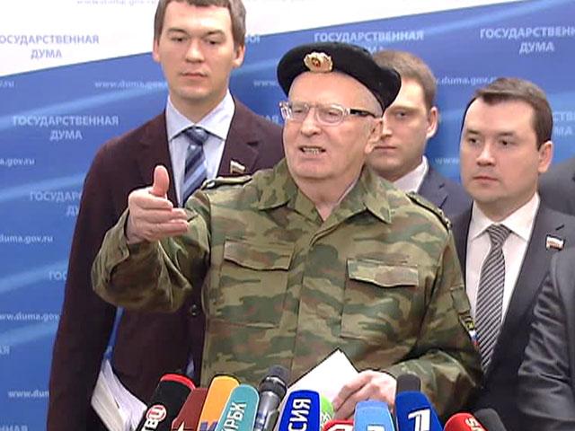Фракция Жириновского предлагает отозвать посла РФ в Украине и послать в Киев спецназ - Цензор.НЕТ 3154