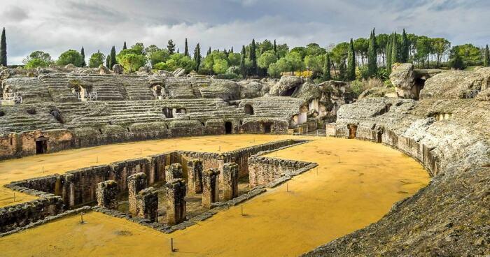 Италика, Испания.  Фото: gameofthronestravel.com.