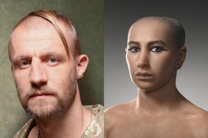 Если кто не знал: Украинские ученые доказали родственную связь между казаком Гаврилюком и Тутанхамоном!...