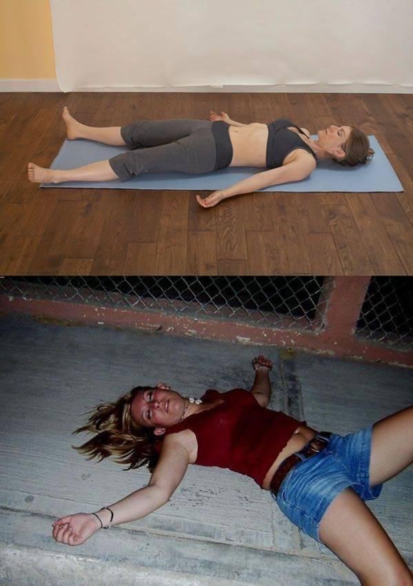 Пьяные мастера йоги