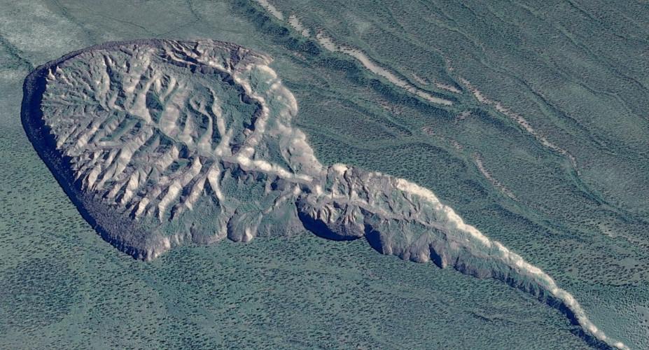 Ученые сообщили о росте гигантской ямы в Сибири