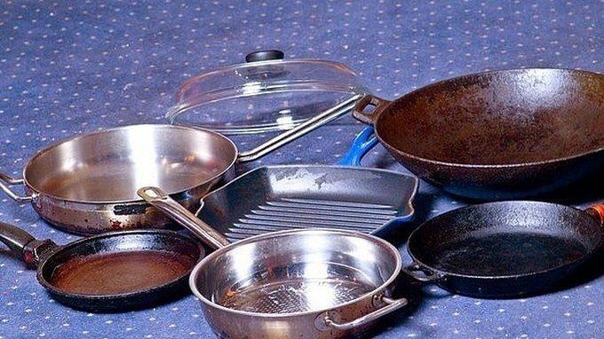 Вам нравится идеальное сияние металлической посуды на кухне?