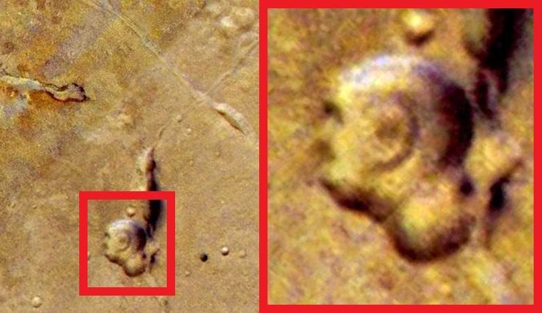 На Марсе нашли отчетливое из…