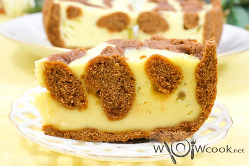 Вкусный сладкий пирог «Жираф»