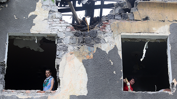 В Донецке готовятся к эвакуации мирного населения