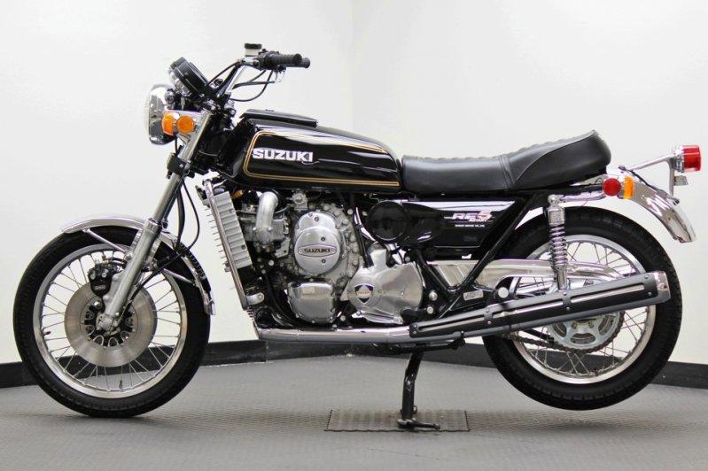 Капсула времени: абсолютно новый роторный мотоцикл Suzuki RE5 1976-го года