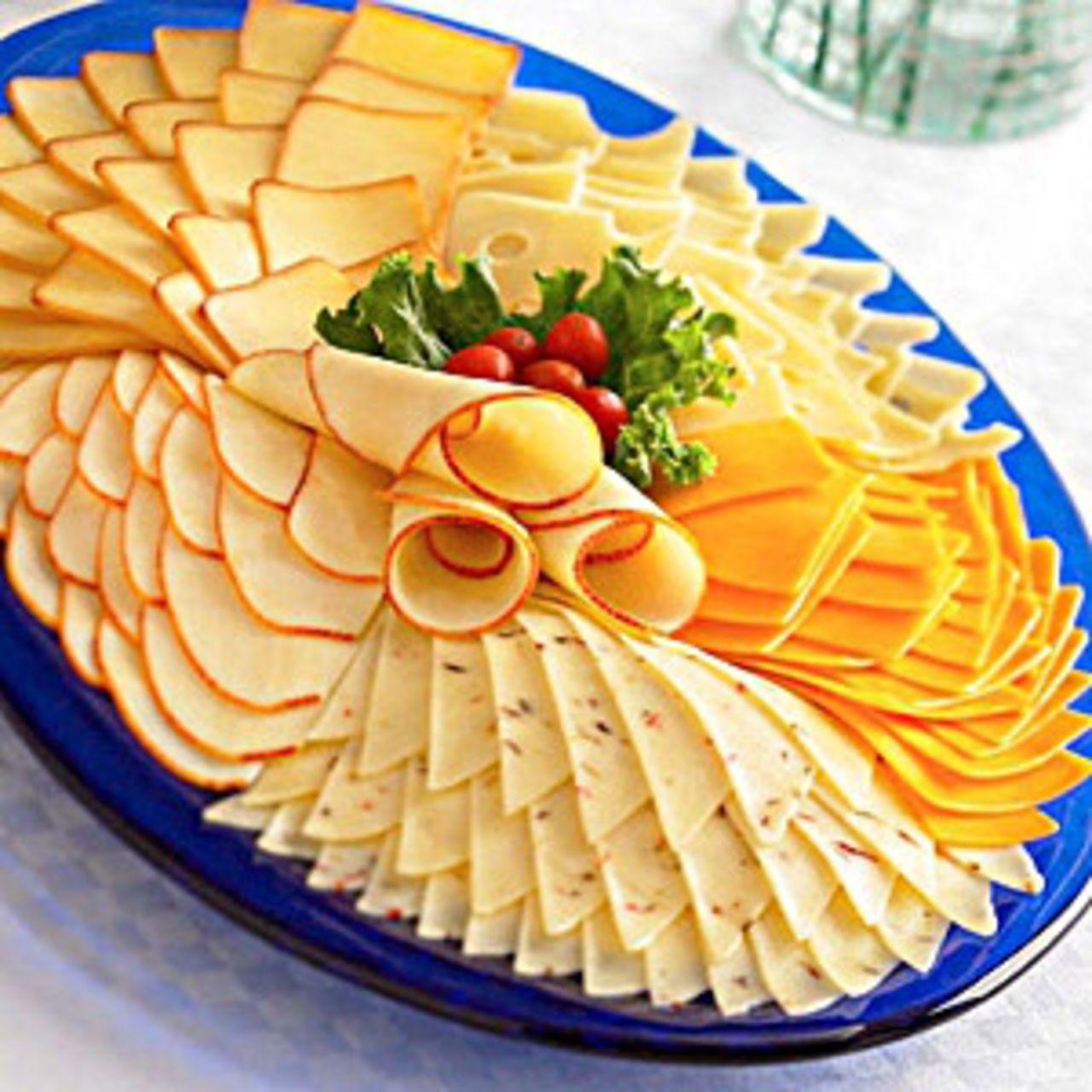 Как сделать тарелку из сыра