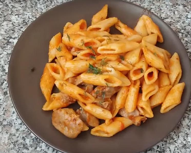 Простое и вкусное блюдо из макарон