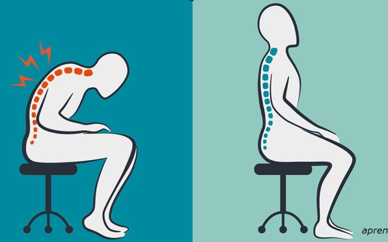 Спина болит от того как мы сидим