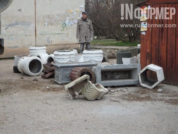 В Севастополе обнаружено кладбище урн (ФОТО)