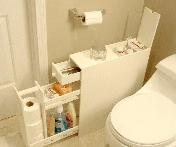 Шкафчик для ванной комнаты своими руками!