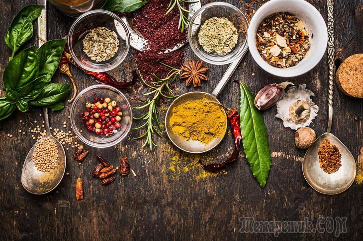 Лучшие противовоспалительные продукты, приправы и специи