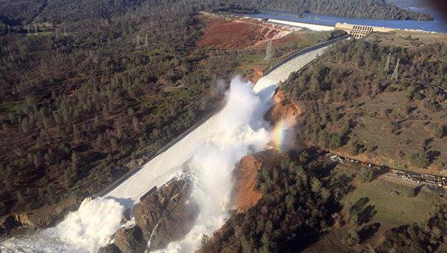 Россия готова оказать помощь США в связи с разрушением плотины в Калифорнии