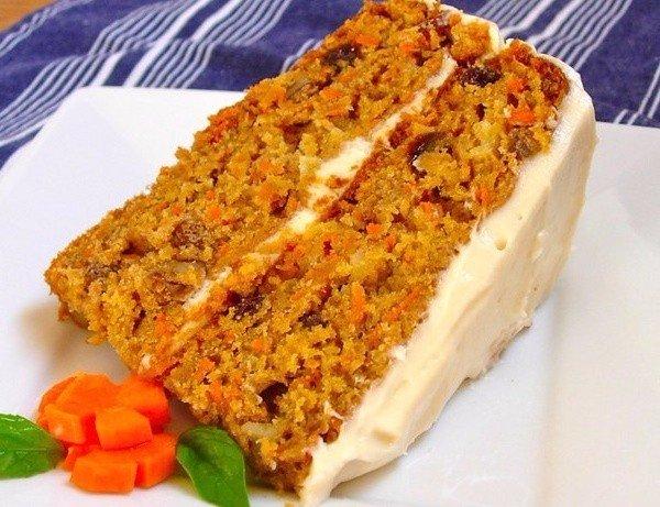 Морковный ПП-пирог: низкокалорийный и безумно вкусный!