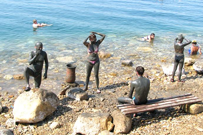 Преимущества лечения на Мёртвом море