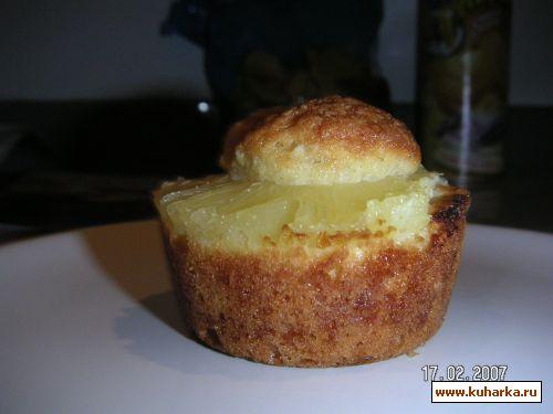 Ананасовые бисквиты - выпечка на скорую руку