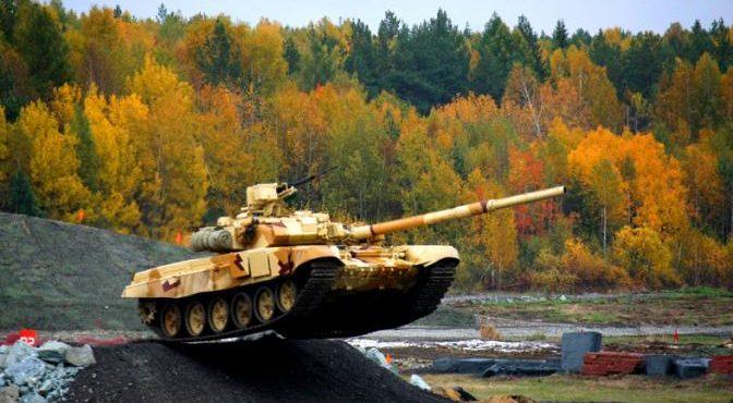 Т-90МС вытесняет «Абрамсы» с Ближнего Востока