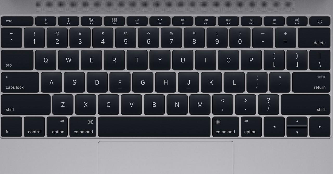 Совет от Apple: как чистить клавиатуру MacBook