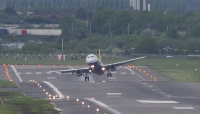 Пилот предотвратил катастрофу, посадив прыгающий по полосе самолёт